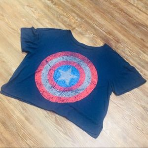 MARVEL Captain America Crop Top ❗️AWESOME ❗️